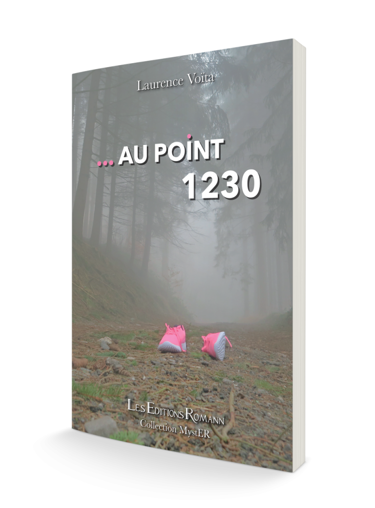 au point 1230 de laurence Voita couverture Editions Romann